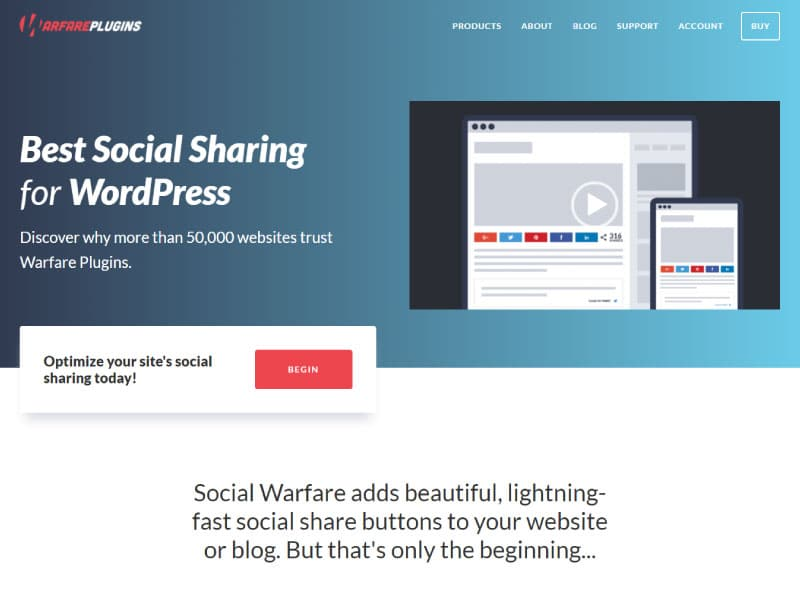 WordPress Plugin | Social Warfare | Jennifer Franklin