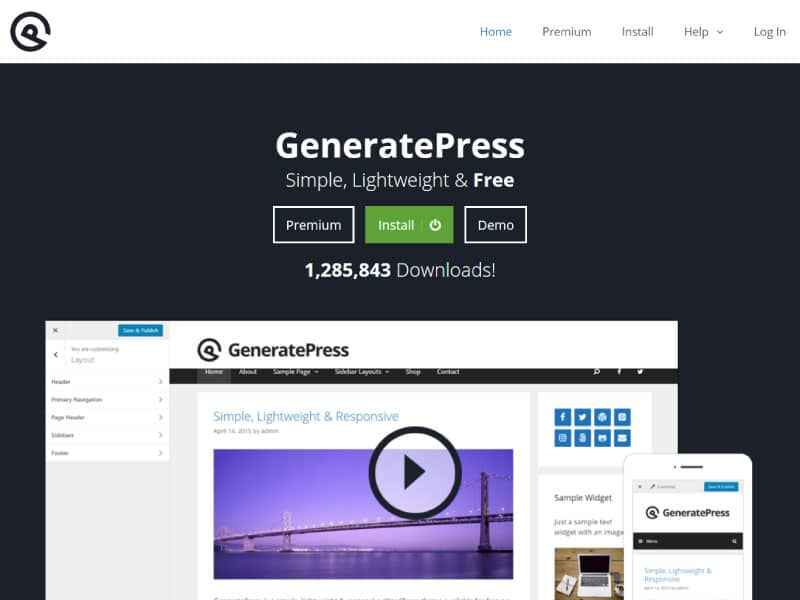 WordPress Theme | GeneratePress | Jennifer-Franklin.com