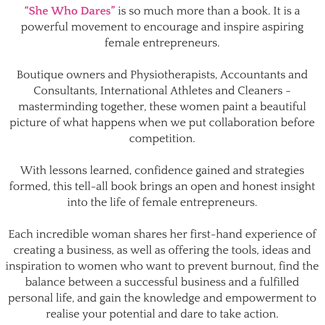 Jennifer Barnfield - Best Selling Co-Author - She Who Dares