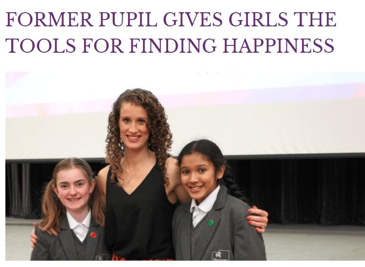 Manchester High School for Girls - Jennifer Barnfield, Motivational Talk