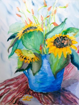 Sunflower-Explosion