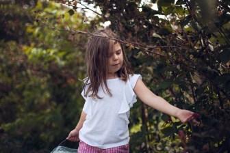 wild berry farm flower mound child family photography