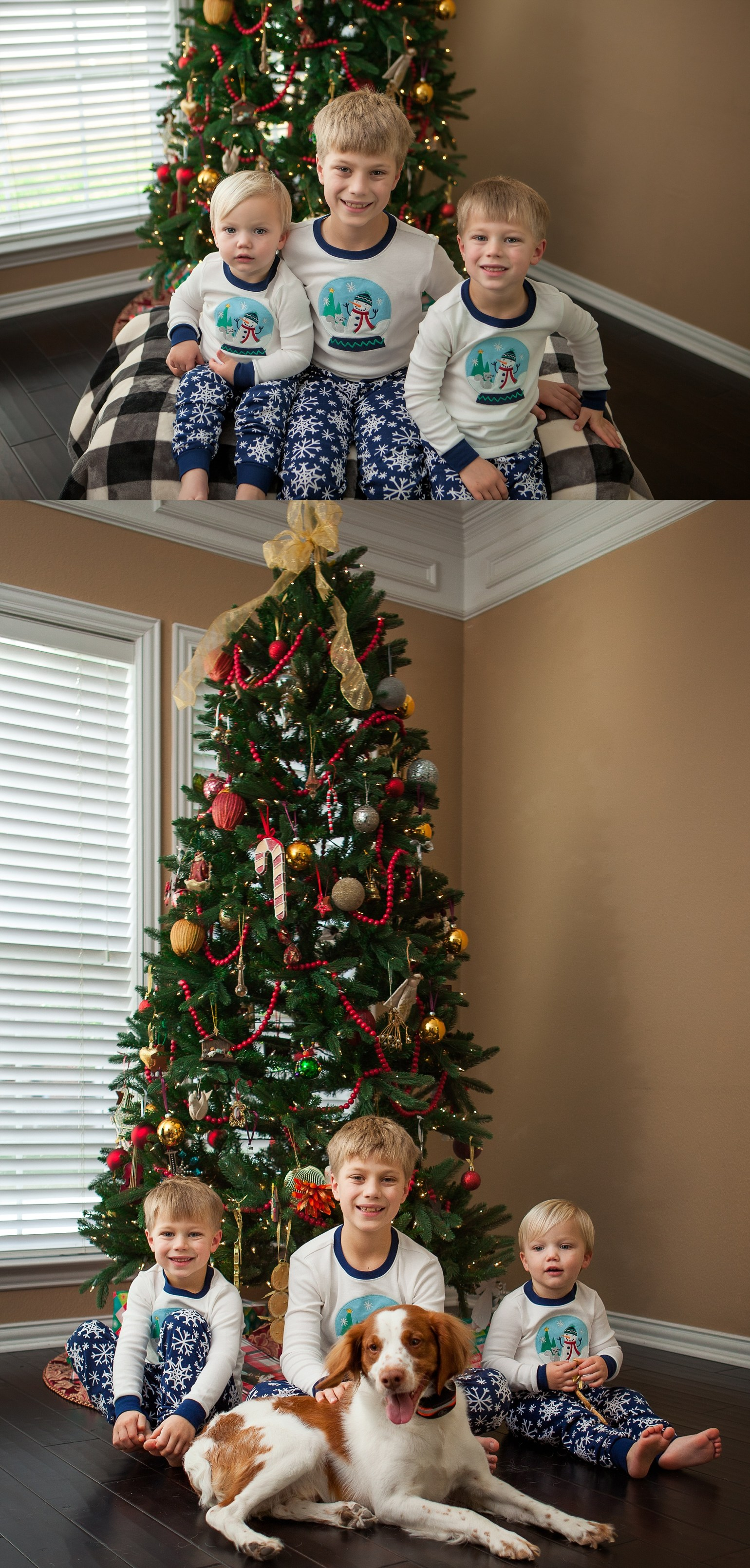 Christmas Mini Session DFW Family Photographer