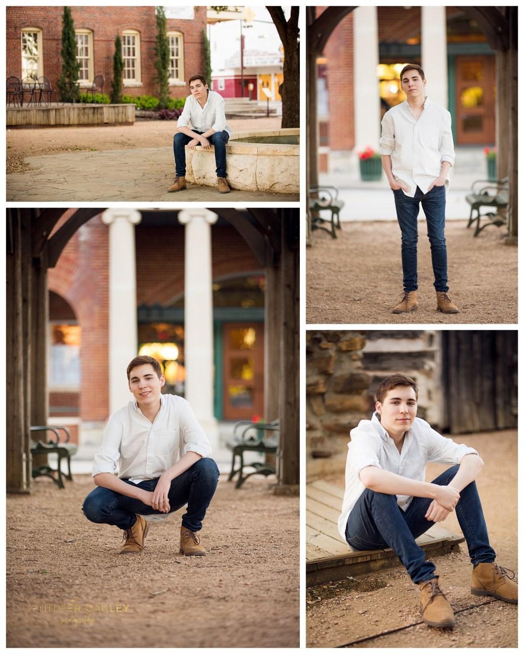 High School Senior Photography Flower Mound