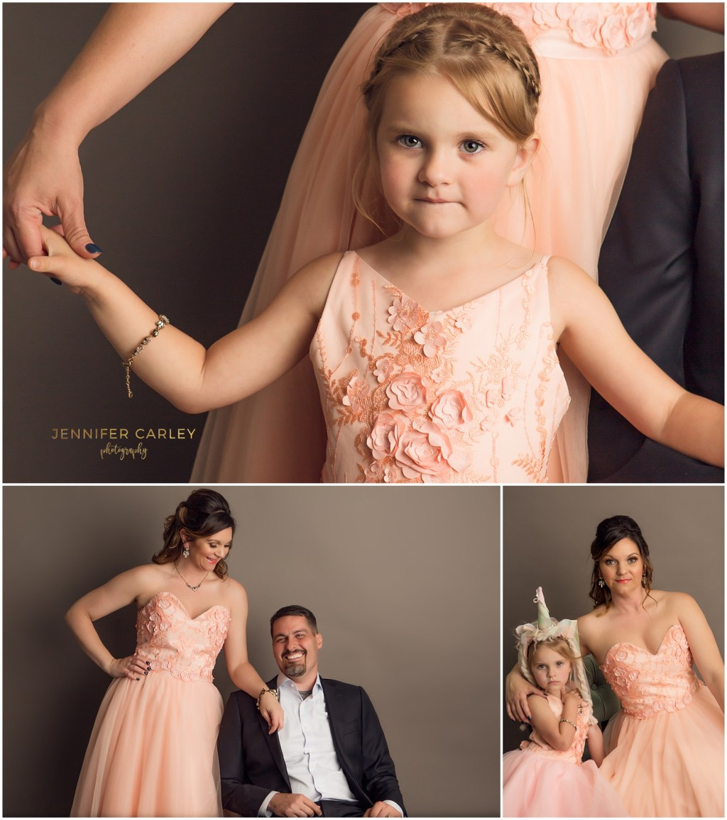 Dallas Family Photographer Studio Portraits