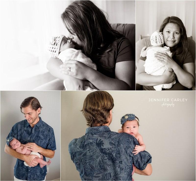 Flower Mound Lifestyle Newborn Photographer