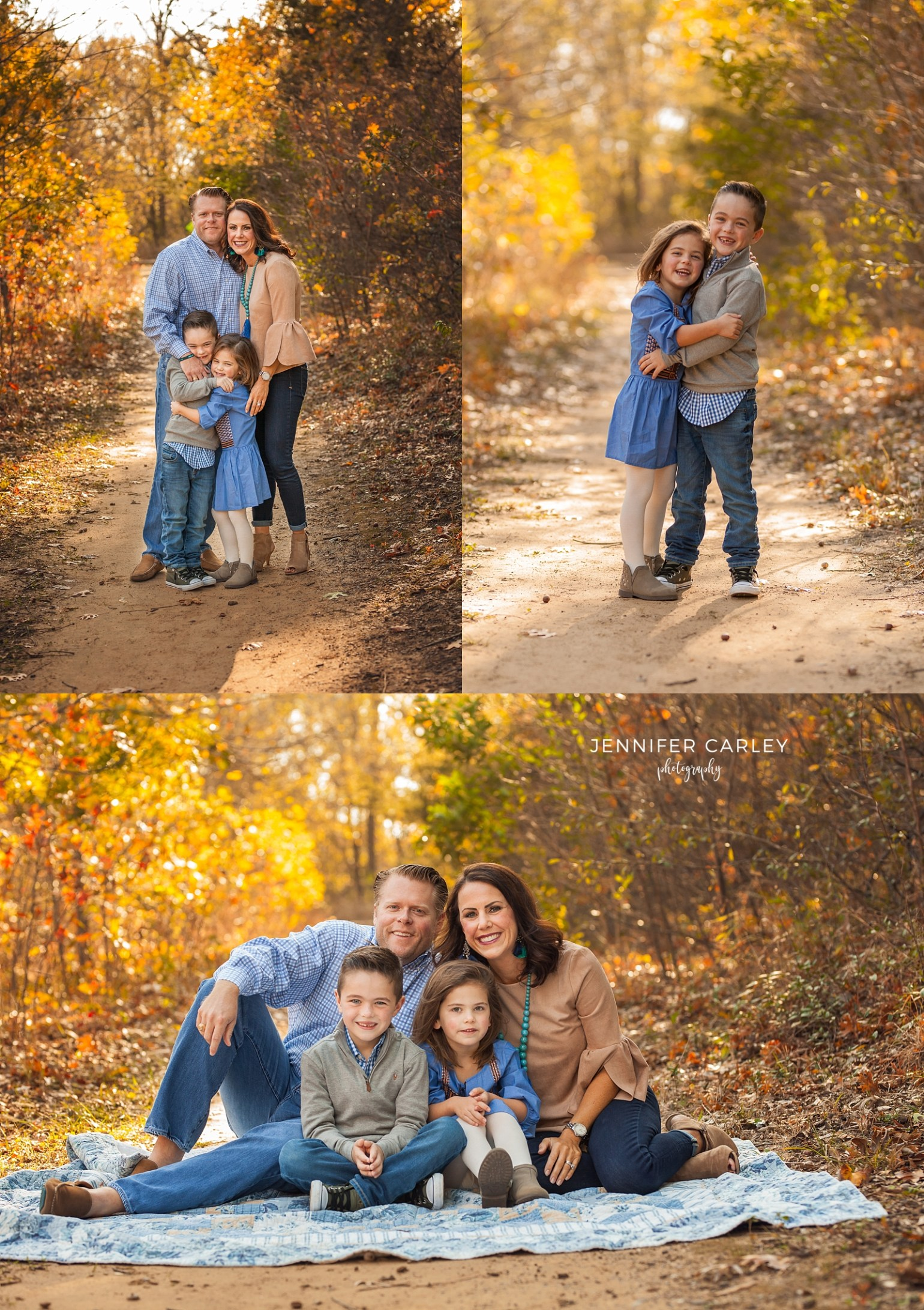 fall family photography flower mound photographer
