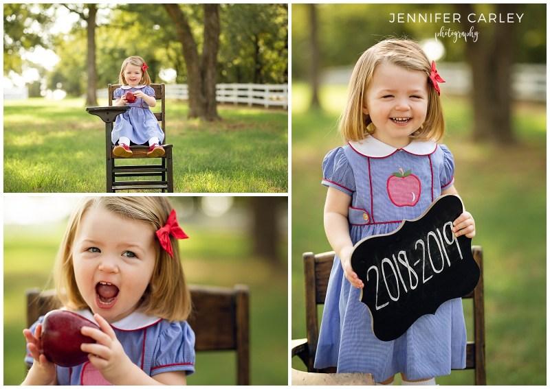 Flower Mound Child Photographer Back to School
