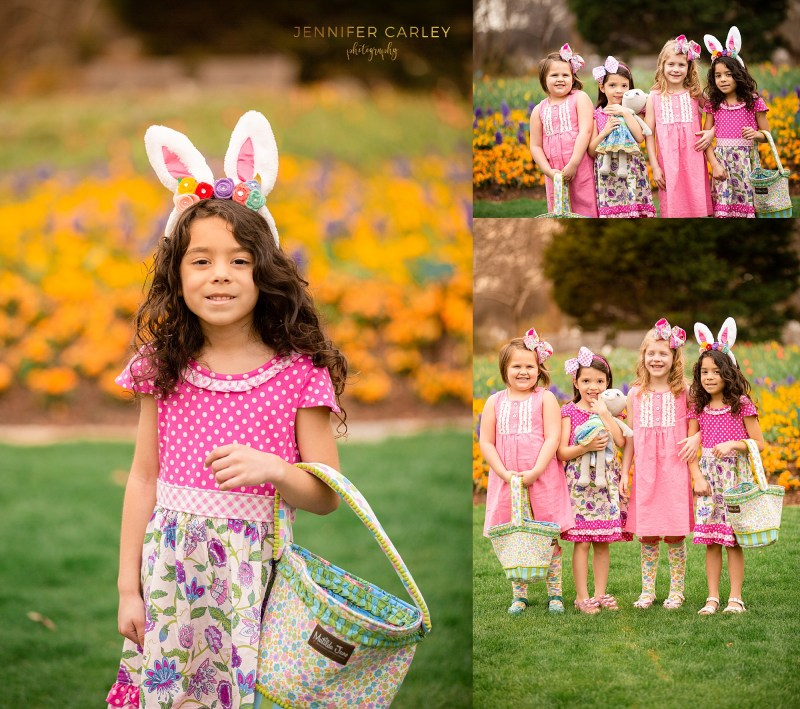 Dallas Spring Blooms Portrait Photography