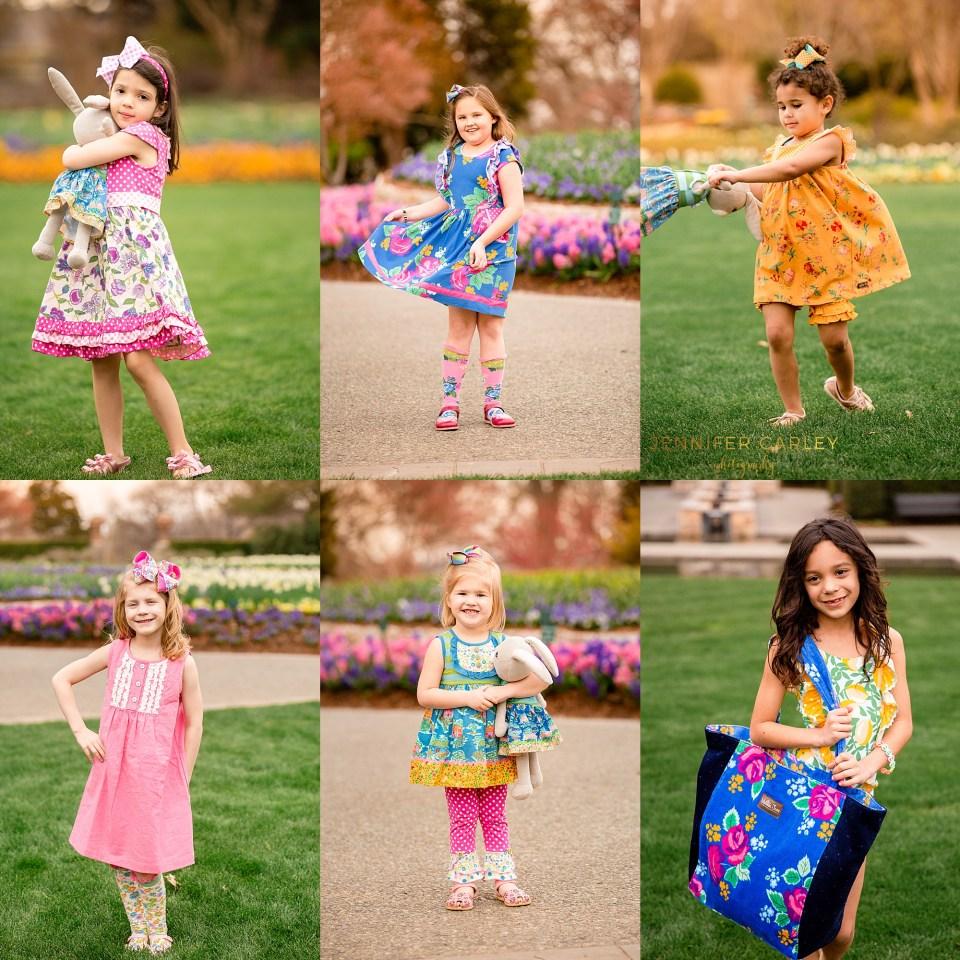 Dallas Spring Blooms Portrait Photography
