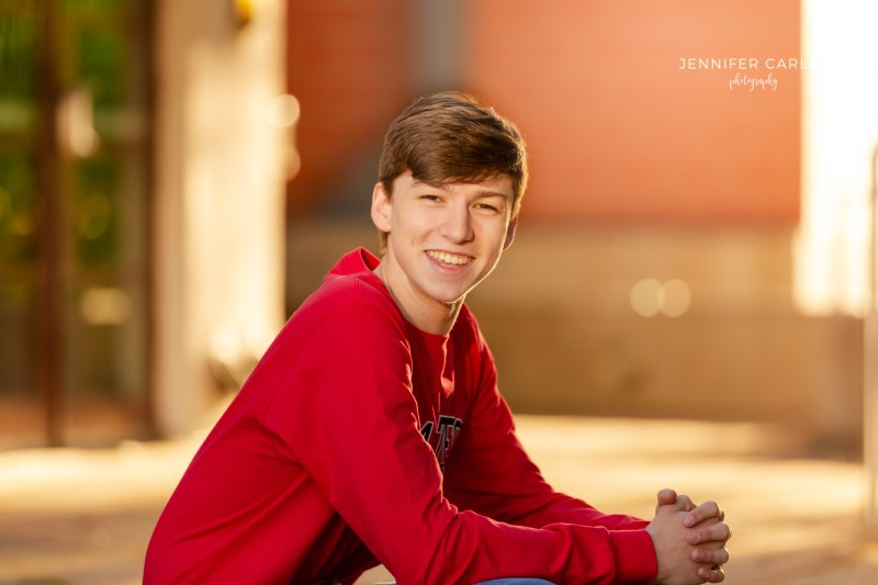 high school senior portrait photographer flower mound