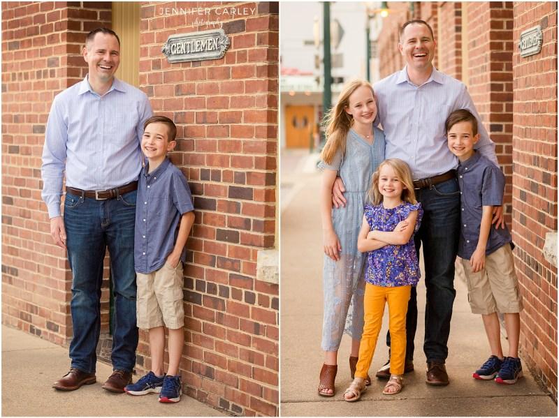 Main Street Historic Grapevine Family Photos