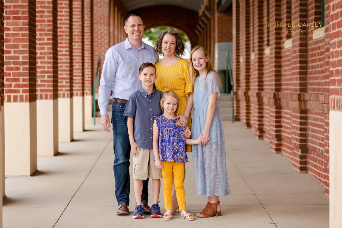 Historic Grapevine Family Photographer