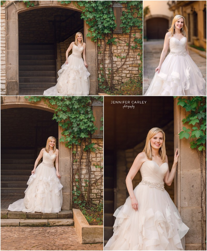 Bridal portraits mandalay canals in Irving, Tx Las Colinas.