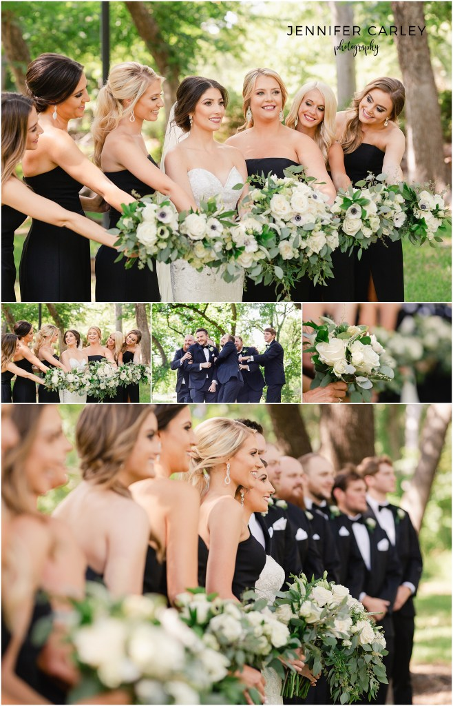 Flower Mound Wedding Photographer Denton Little Chapel in the Woods, Bridal Party, TWU Wedding, Denton Bridal Show, Brides of North Texas
