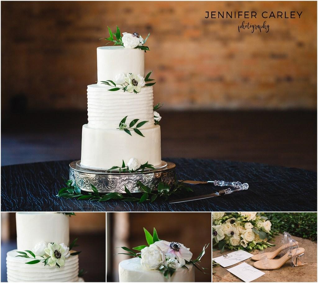 Denton Monroe Pearson Wedding, Wedding Cake