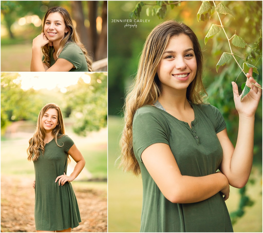 Coppell Senior Photographer - DFW High School Senior Portraits at Grapevine Springs Park