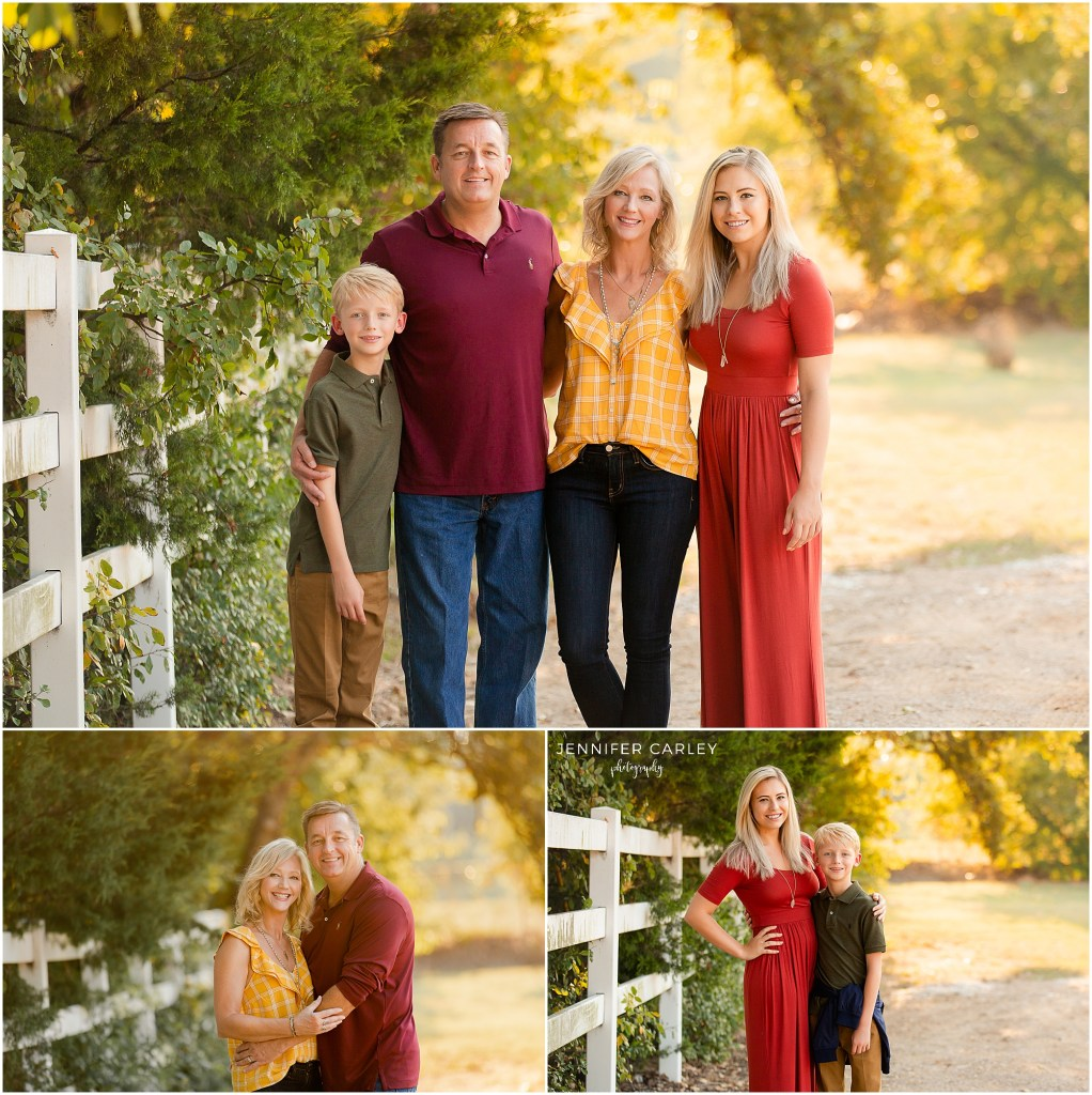 Fall Family Photography Flower Mound What to Wear for Fall Photos