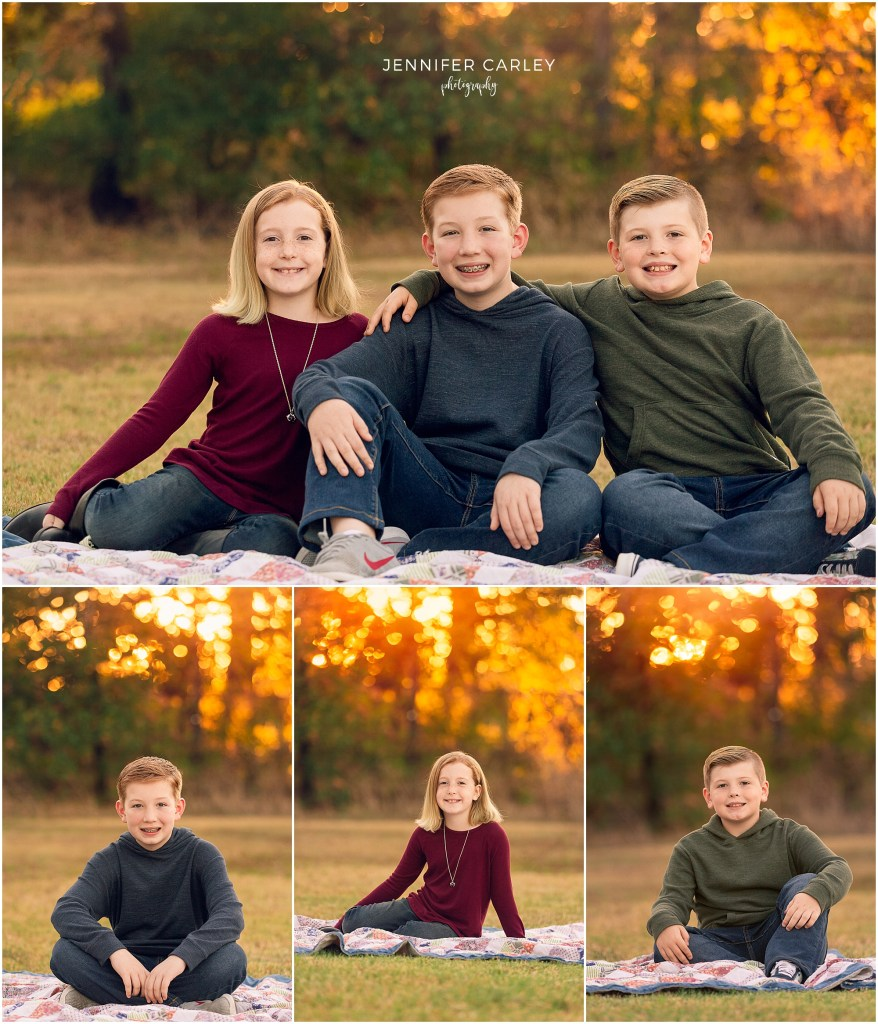 Fall Family Photographer DFW