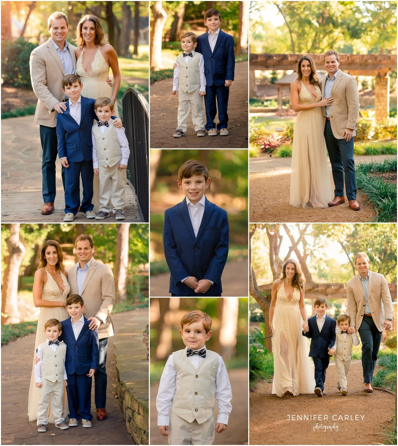 Grapevine Botanic Gardens, DFW Fall Family Portraits, Elegant Formal Photos, Final Art Family Photos, Elegant Family, Fall Photos, Two boys
