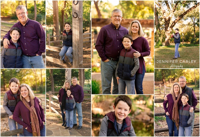 DFW Fall Family Portraits, Grapevine Botanic Gardens at Heritage Park, Colleyville, Southlake, Grapevine, Family of 3, Fall Photos