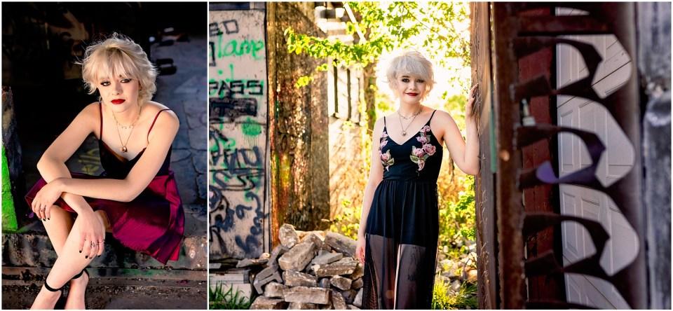 Urban photo shoot, Fabrication Yard, Senior Portraits, Funky portraits, Flower Mound Photographer, High School Graduation, Oak Cliff, Design District