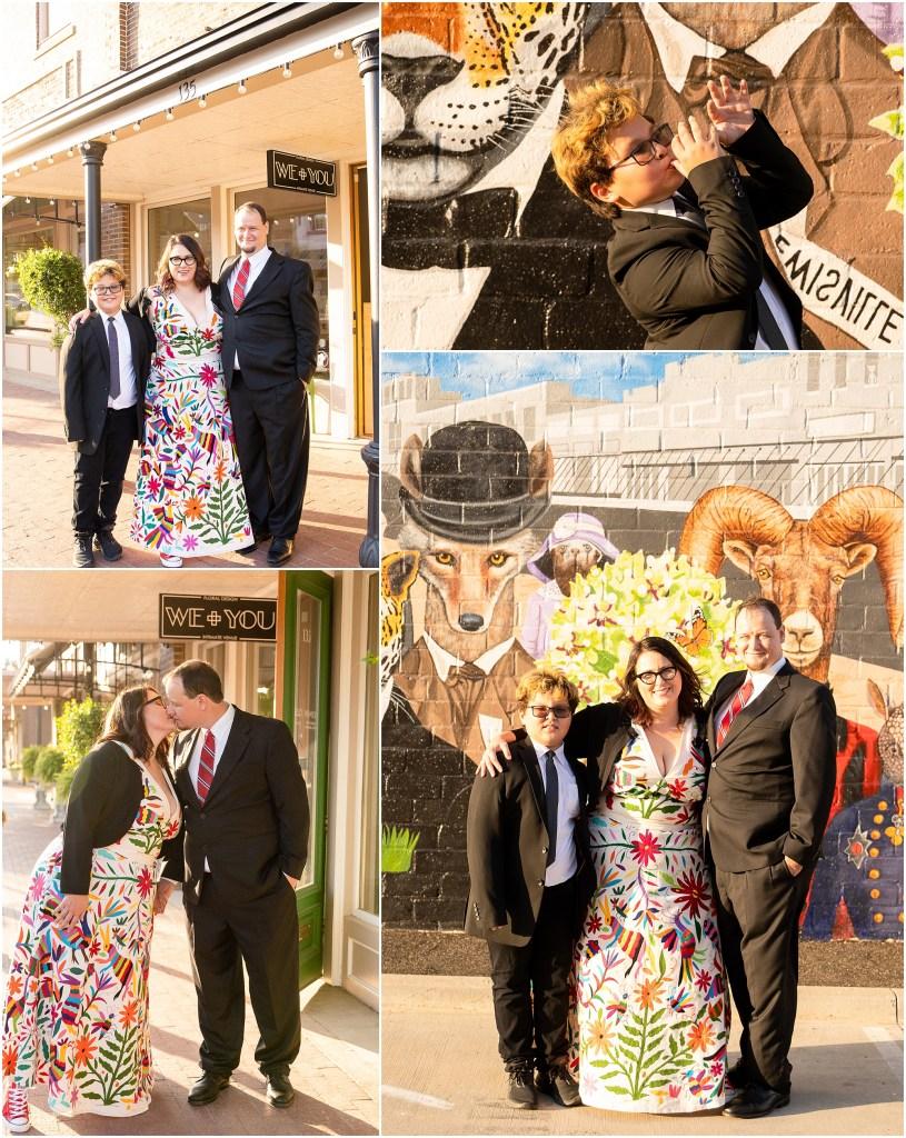 Old Town Lewisville Wedding, OTL wedding, Old Town Lewisville wedding photographer, We+You Floral Design, Floral Design, DFW Small Weddings, DFW Intimate Weddings, DFW Elopement Photographer, DFW microwedding photographer, Flower Mound Wedding Photographer, We+You Venue