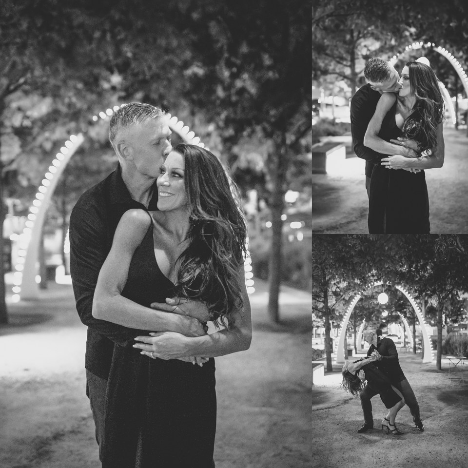 dallas engagement session, klyde warren park engagement session, happy hour, att discovery district, the statler hotel, the joule hotel, klyde warren park engagement photos, downtown dallas engagement photos