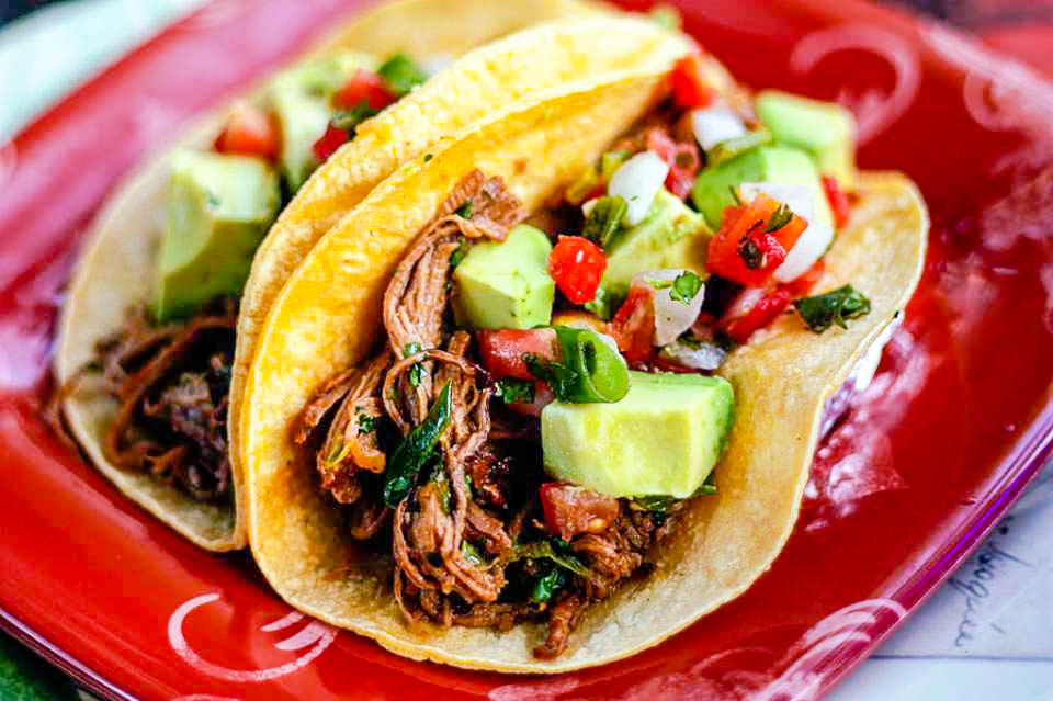 downfall…I love it! So, this easy recipe for Shredded Beef Tacos ...