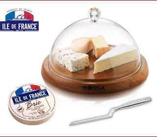 Ile de France Cheese Giveaway & Asparagus Brie Tart