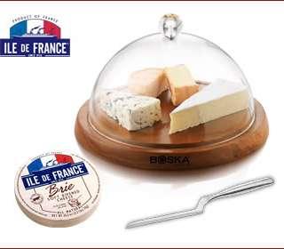Ile de France Cheese Giveaway & Asparagus Brie Tart