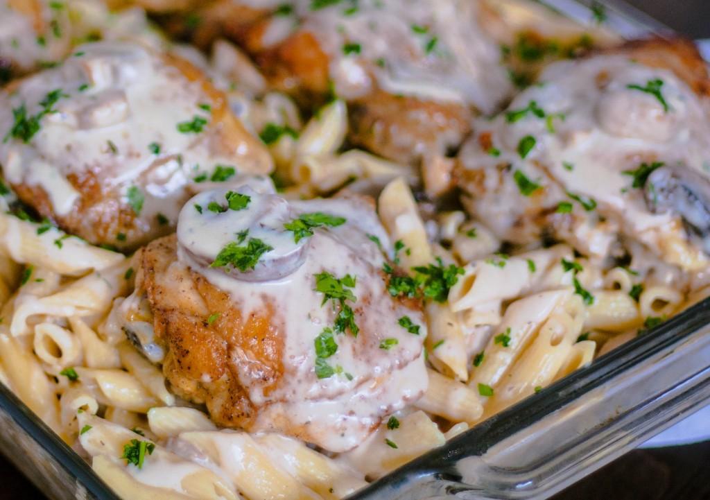 chicken-with-creamy-mushroom-brie-sauce-recipe