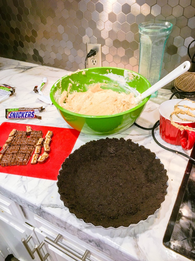 mile-high-snickers-pie   JenniferCooks.com
