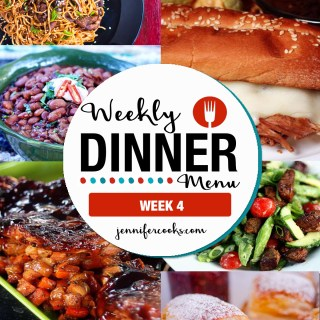 Weekly Dinner Menu: Week 4