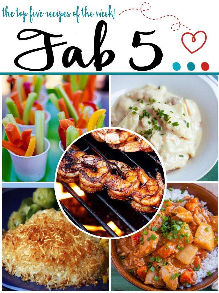 Fab 5: Week 9 | Jennifer Cooks