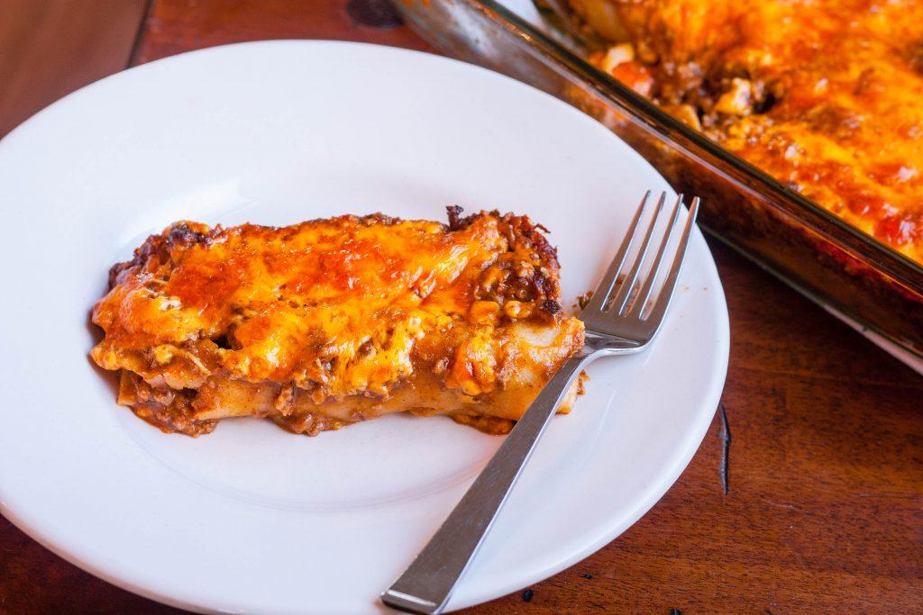 Tex-Mex Beef Enchiladas | Jennifer Cooks