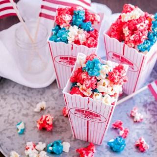 Patriotic Popcorn | Jennifer Cooks