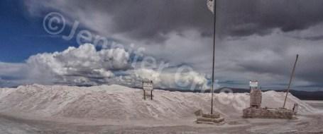 Salt Stop Along the Road