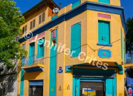 Colorful building in La Boca