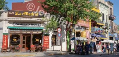 La Boca street