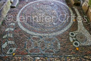 Decorative flooring. Here art is everywhere.