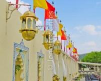 Jag Mandir garden wall