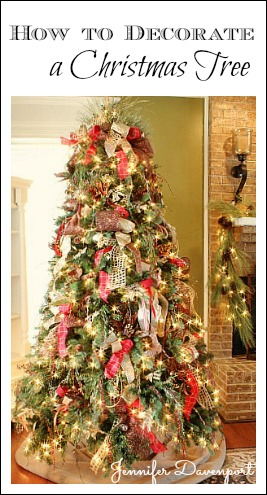 how to decorate a christmas tree. Black Bedroom Furniture Sets. Home Design Ideas