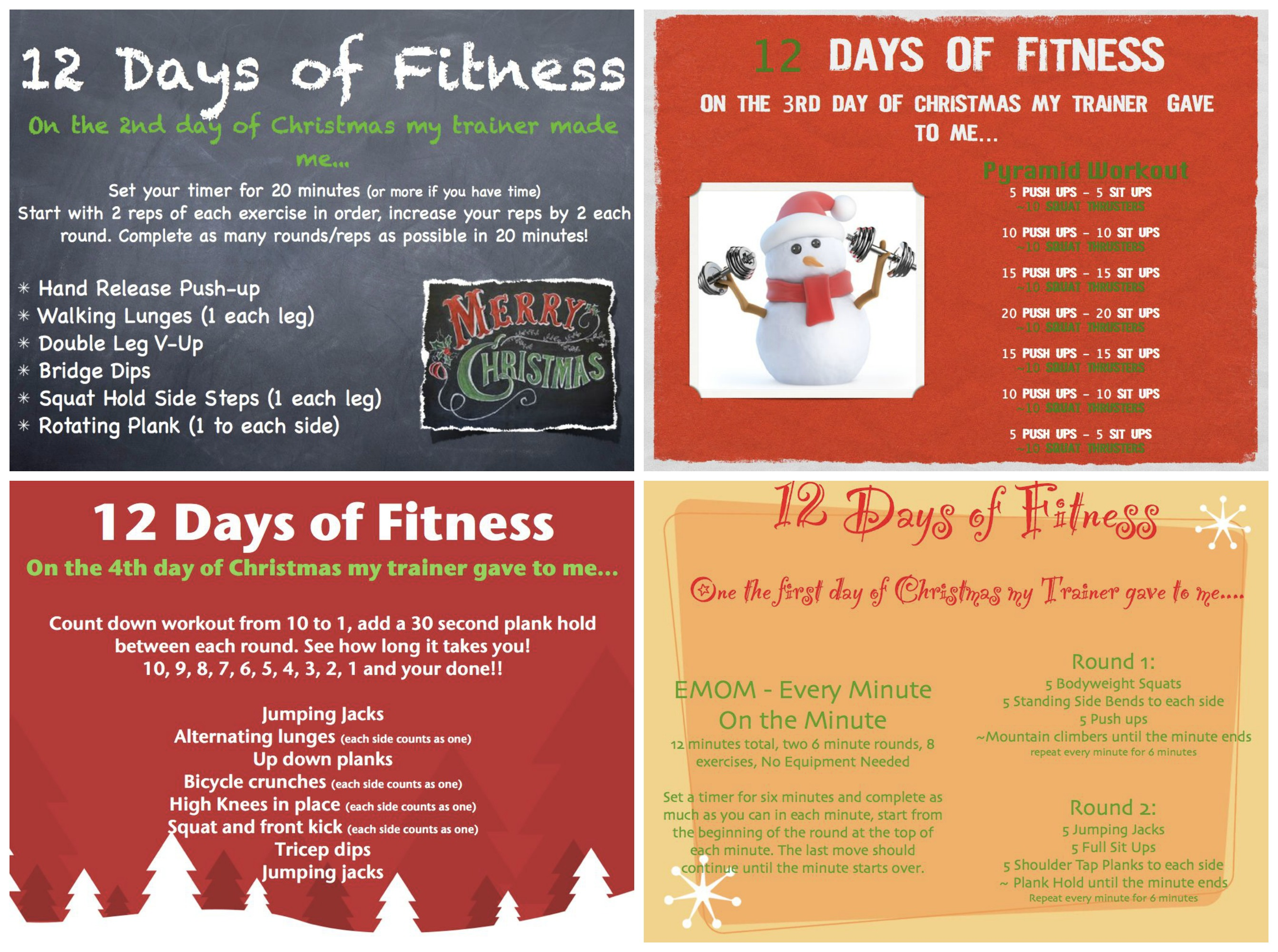 12 Days of Fitness! CHECK it out: https://www.facebook.com/ResurrectionFitness
