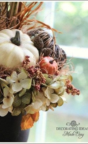 Budget friendly fall decorating ideas from Jenniferdecorates.com