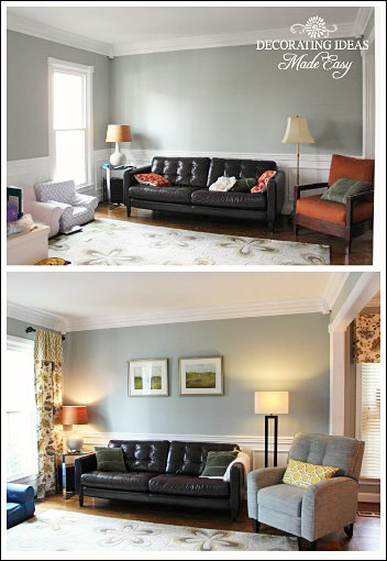 Before And After Decorating Pictures