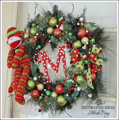 christmas wreath ideas from jennifer decoratescom