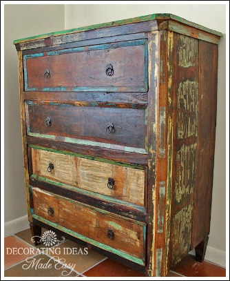 Wonderful Distressed Painted Furniture