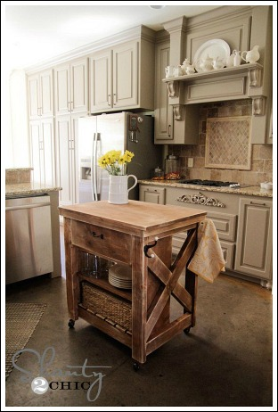 find some old wood corbels at the flea market or antique store they add character and charm to a cottage style kitchen