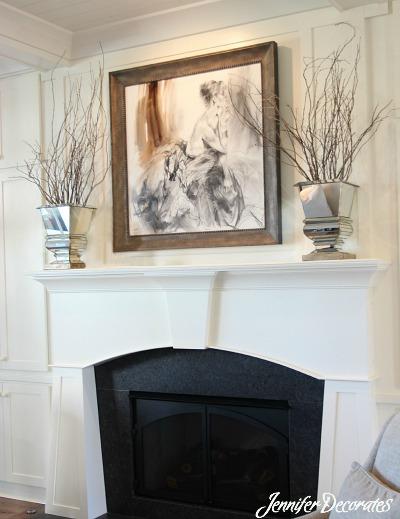 Living Room Wall Decor Ideas from Jennifer Decorates.com